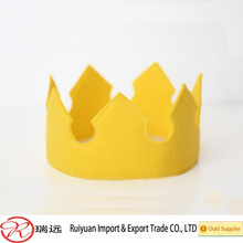 2015 Alibaba cheap felt children princess crown made in China
