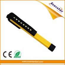 Wholesale Alibaba Magnetic Portable Clamp LED Pen Bulb Flashlight Torches with Camping Clip Light