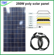 Good quality 250w solar panel in solar cells for solar panel system 5000w