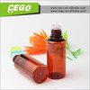factory wholesale 5ml dark brown pet cosmetic bottle/15ml dark brown pet dropper bottle childproof /30ml pet bottles childproof