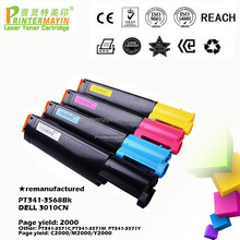 Professionally Remanufactured Toner Cartridge for use in DELL 3010CN (PT341-3568Bk)