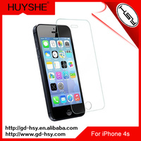 HUYSHE Cell phone tempered glass protector for iphone 4&for iphone 4s cellphone accessories for iphone4