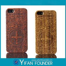 Hard wooden Mobile phone manufacturer for iphone 5/5s