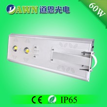 60W best selling china factory price integrated all in one solar led street light outdoor furniture solar powered