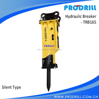 hydraulic breaker jack hammer for excavator in 30-45 ton with 165mm chisel