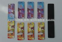 Hot promotional magnetic paper folding bookmark paper bookmarks to decorate paper unique bookmarks