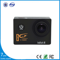 2015 New Online factory wholesale sport camera for cycling and Helmet underwater mini camera