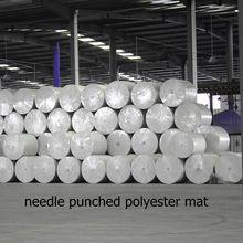 Long fiber polyester mat for APP/SBS