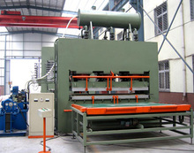 wood melamine paper laminating press machine/high efficiency melamine hot press/high pressure mdf lamination hot press machine