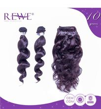 Wholesale No smell and Tangle Free Loose Wavy Hair And Cheap