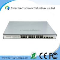 24 10/100/1000M RJ45 ports Poe Network Switch/10/100/1000M 24 port poe switch/24 port poe ethernet switch 10/100/1000M 2SPF