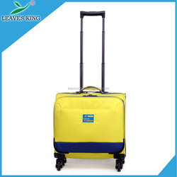 supply all kinds of animal print luggage,white travel trolley