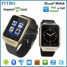 Perfect GPS + FM +wifi + touch screen mobile phone watch 4g