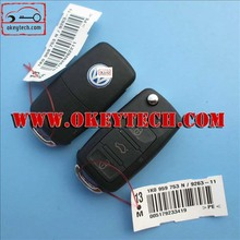 OkeyTech VW remeot key 3 button 1KO 959 753 N 433Mhz ID48chip remote key for vw remote key