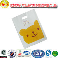 Colorful Custom Twisted Handles Brand plastic Bag For Shopping And Packaging