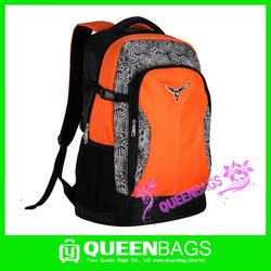 2015 China factory wholesale casual school bag for university student colorful school backpack bag