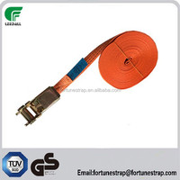 low price cargo lashing belt,ratchet tie down straps with no hook,tie downs for transportation