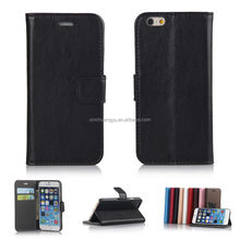 2014 Newest For Apple Iphone 6 Leather Case With Good Quality