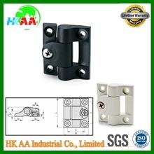 Hinges with adjustable friction, adjustable cabinet locking hinge