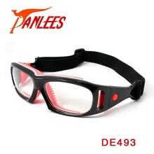 Panlees 2015 factory custom logo man football prescription glasses basketball dribble safey glasses soccer glasses frame goggles