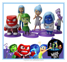 New arrival Inside Out action figure set of 6pcs PVC doll carton movie doll action figures