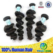 Wholesale Hot selling Top Grade Unprocessed Full Cuticles Indian Hair Industries