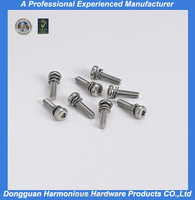 top quality socket head cap Elastic screw with washer