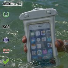 PVC waterproof bag for iphone 5 /mobile phone pvc waterproof pouch/waterproof smartphone case