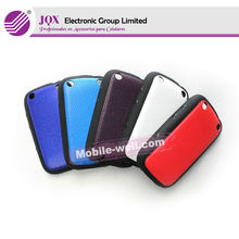 Hot Selling factory price fashional colorful PC+TPU Cell phone protector case for Blackberry 9320 caso protector