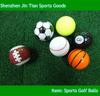 Bulk Colored Golf Ball Simulate Sporting Golf Ball