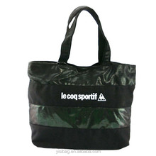 2013 fashion fluorescent black shopping bags tote bags wholesale