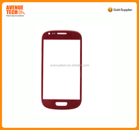 TOP quality For Samsung Galaxy S3 Mini Front Glass Replacement Blue White I8190