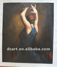High Quality Women Dance Oil Painting