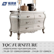 9253-1# hot sale high quality solid wood carved simple back cabinet