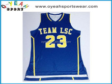 basketballs jersey sublimated printing