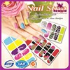 Nail polish stickers , nail strips,free nail stickers manufacturer
