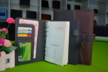 High quality leather organiser cover / journals / leather day planner for students