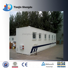 Ce certification 40ft Modular single shipping container homes prefab houses
