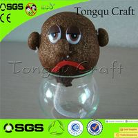 promotiona and premium toy cello grass head doll toy yoyo , sheep toy