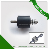Manufacture rubber vibration isolator/rubber shock absorber with screw for big machine