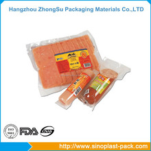Plastic bag printing stretch roll film in packing machine