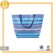 full color printing blank pp woven custom tote bag