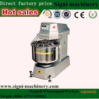 Newet Factory Wholesale High Quality Heavy Duty planetary used commercial dough mixer with Whisk /beater/Spiral and bowl