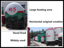 Heating area 6000sq.m. Coal fired Hot water boilers