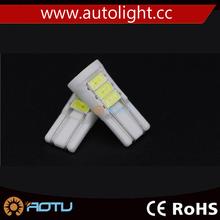 194 168 T10 8SMD 5730 Ceramic Auto Led Side Wedge Light