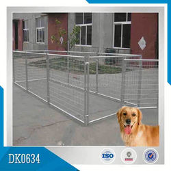Direct From Factory Reasonable Price Galvanized Modular Dog Kennel, Dog House