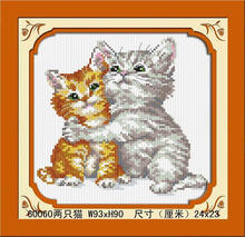 HOT SELLING DIY DIGTAL CAT DIAMOND PAINTING BY NUMBERS