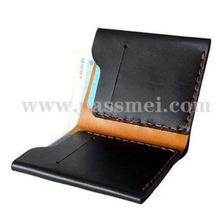 Custom genuine leather wallet
