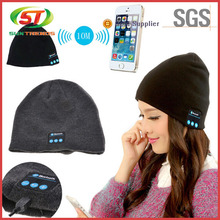 Wholesale Custom Logo Bluetooth Beanie Hat With Headphone