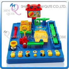 Mini Qute <span class=keywords><strong>Laberinto</strong></span> 3D mágico bola intelectual para chicos juguete educativo 3D puzzle exploración juego plataformas NO.953